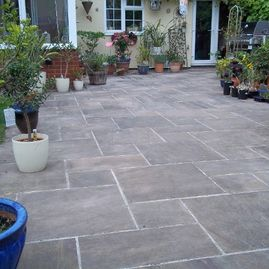 completed paving by K Willis Builders & Contractors