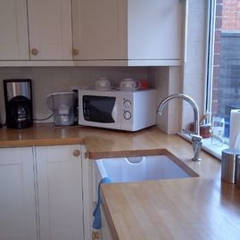 K Willis Builders & Contractors kitchen install