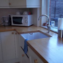 K Willis Builders & Contractors kitchen installed for a cusotmer