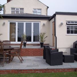 extension built by K Willis Builders & Contractors