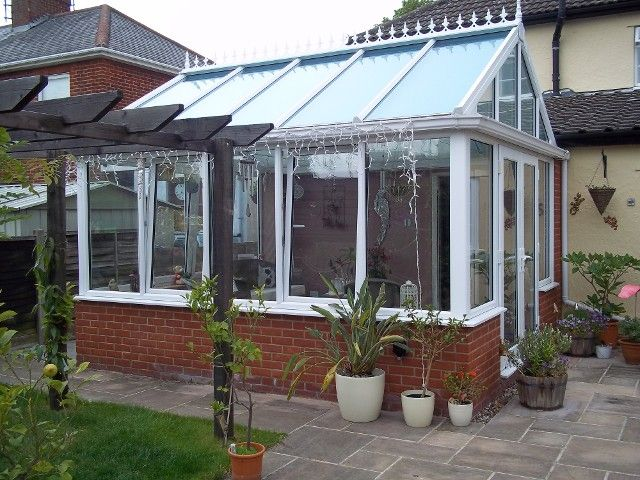 completed conservatory job by K Willis Builders & Contractors